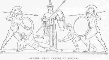Greek Art Sketches